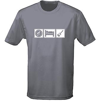 Eat Sleep Guitar Mens T-Shirt 10 Colours (S-3XL) by swagwear