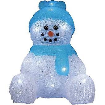 Acrylic figure Snowman Cold white LED Polarlite LBA-52-001