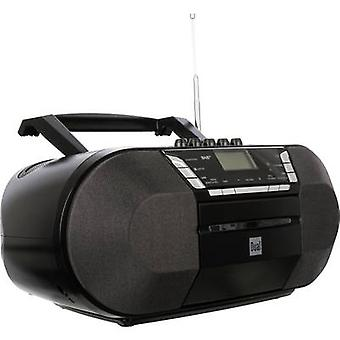 DAB+ Radio/CD Dual DAB-P 200 AUX, CD, DAB+, Tape, FM, USB Black