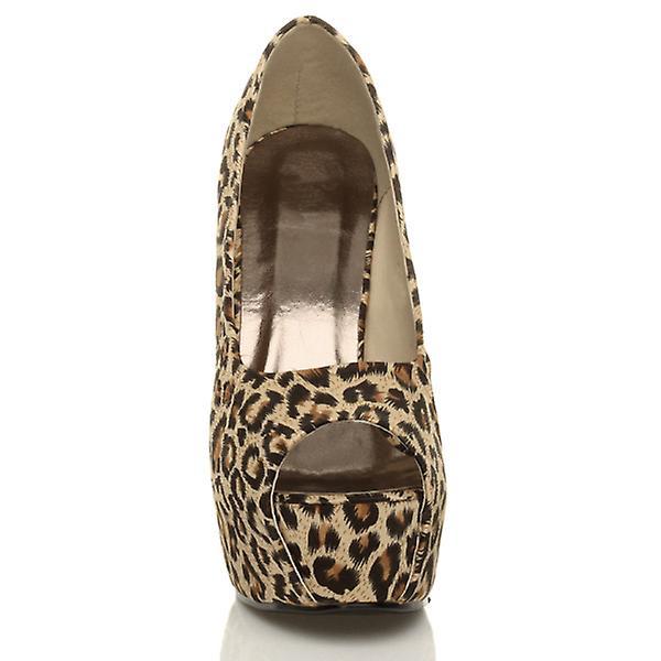 ajvani donne piattaforma pompe tacco alto peep peep peep toe festa corte scarpe | riduzione del prezzo  | Buona qualità  | Gli Ordini Sono Benvenuti  | Uomo/Donna Scarpa  b3d361