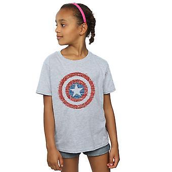 Marvel jenter Avengers Captain America 75te supersoldaten t-skjorte