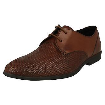 Mens Clarks Stylish Lace Up Shoes Bampton Weave