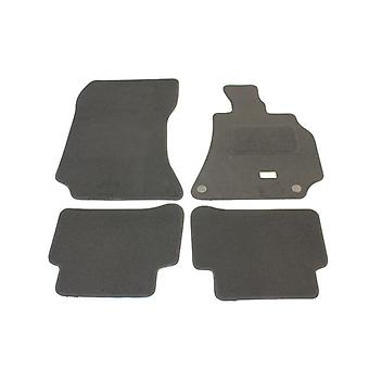 Fully Tailored Car Floor Mats - Mercedes E-CLASS Coupe 2008-2013 Black