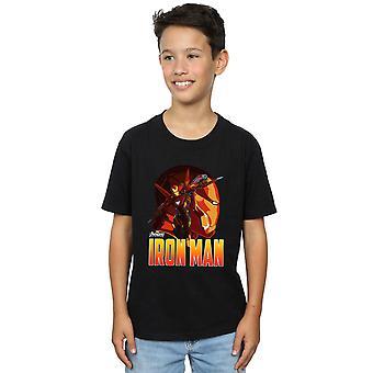 Marvel Boys Avengers Infinity War Iron Man Character T-Shirt