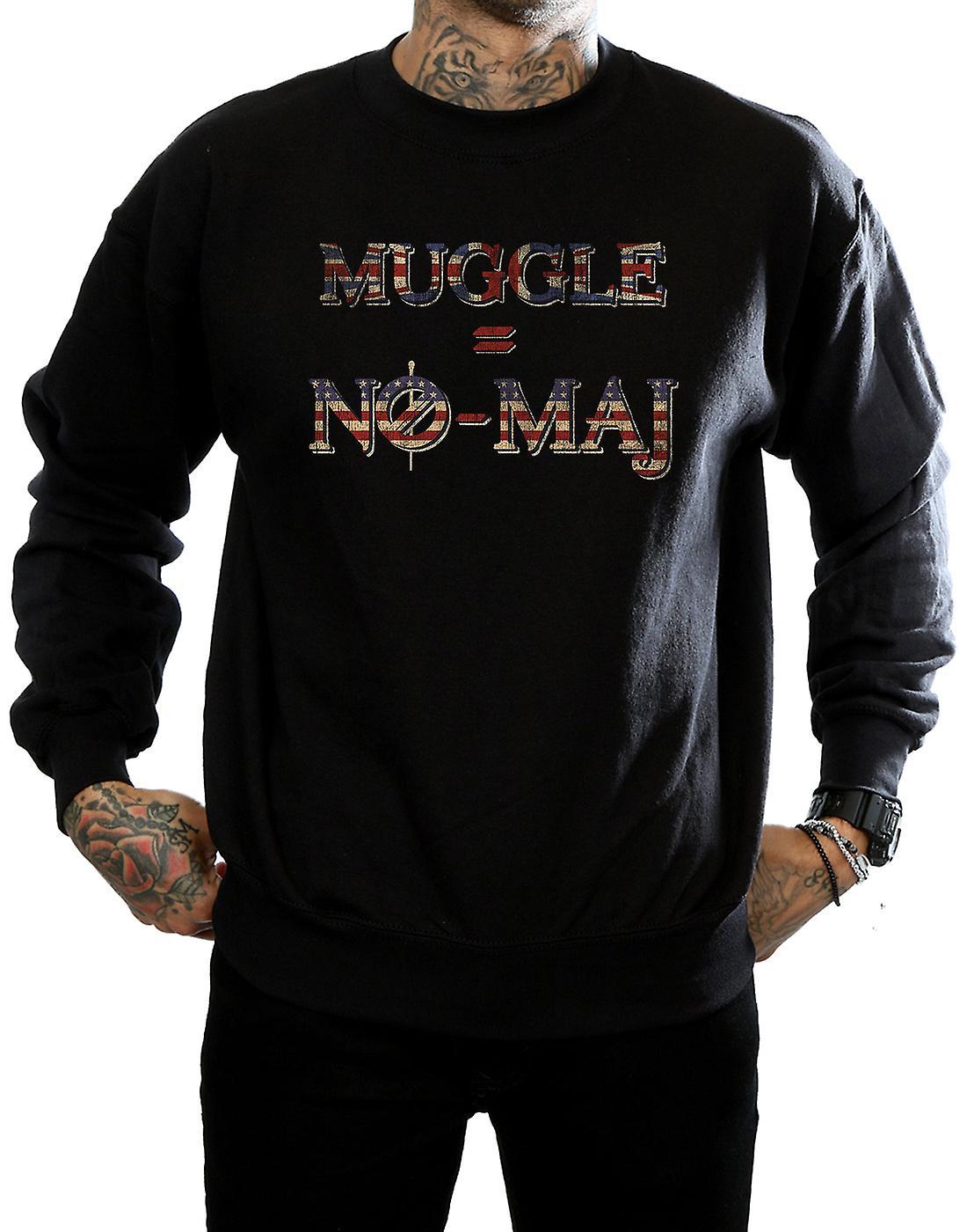 Fantastic Beasts Men's No Muggle No Maj Sweatshirt