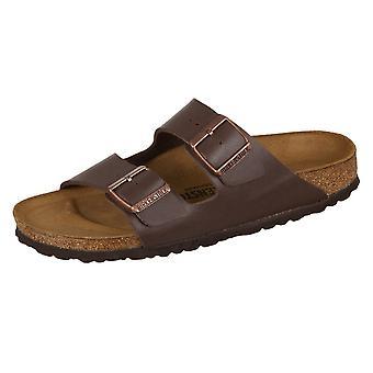 Birkenstock Arizona Dunkelbraun Birkoflor 051703 universal  men shoes