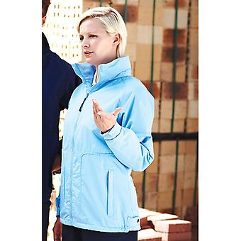 Regatta Womens Hudson Waterproof Fleece-Lined Jacket Blueskies