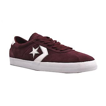 Converse Mens Trainer Breakpoint Pro Bordeaux/White