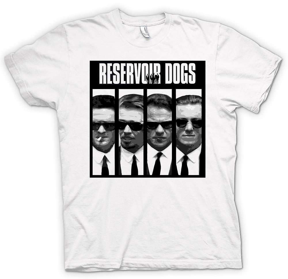 Heren T-shirt - Reservoir Dogs - Collage en woorden