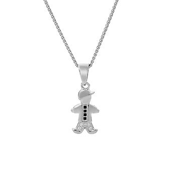 Orphelia Silver 925 Pendant With Chain Boy With Zirconium  ZH-7340