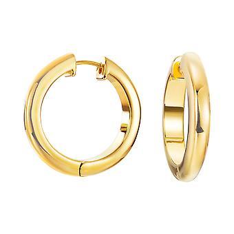 ESPRIT women's Creole örhängen rostfritt stål guld ren ESCO11781B000
