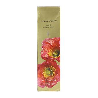 Victorias Secret Garden tenero sussurro Eau De Toilette Spray 3.4 Oz/100 ml In scatola