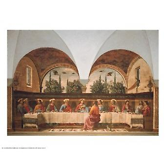 Last Supper Poster Print by Domenico Ghirlandaio (30 x 24)