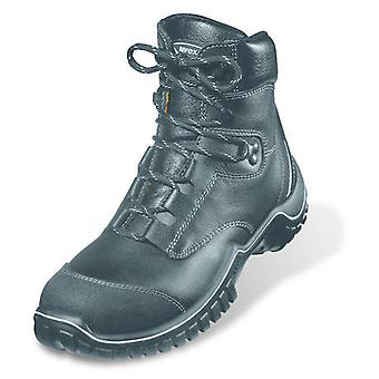Uvex 6986/2 Size 12 Motion Light Leather Safety Boots. Wide-Fit, Steel Toe