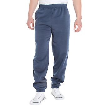 KRISP  Mens Striped Fleece Tracksuit Bottoms Joggers Jogging Trousers Pants Casual Sport Gym