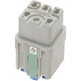 Socket inset Han® Q 09 12 005 2733 Harting 5 + PE Han Quick-Lock® 1 pc(s)