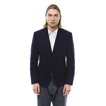 Blazer Navy Blue Pavia Trussardi Collection Man