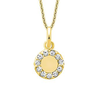 s.Oliver Jewel Damen Kette Collier Silber Gold Zikonia 2015161