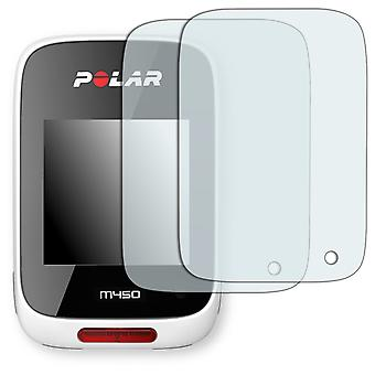 Polar M450 display protector - Golebo crystal clear protection film