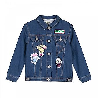 Kenzo Juniors Dori Food Fiesta Denim Jacket (Blue)
