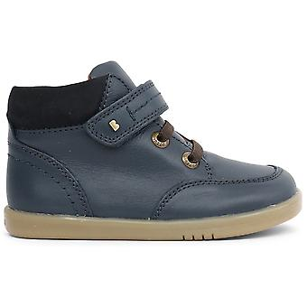 Bobux-Spaziergang jungen Holz Stiefel Navy