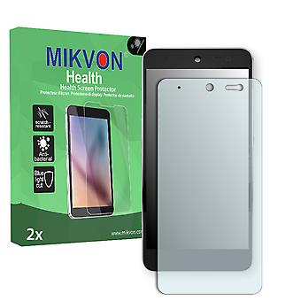 Wileyfox Swift 4G Dual Sim Screen Protector - Mikvon Health (Retail Package with accessories)