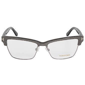 FT5364 توم فورد فراشة 20 | فضة/براون | إطارات النظارات