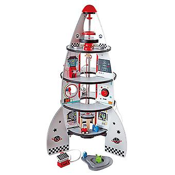 Hape - Four-Stage Rocket Ship - Ruimteraket speelset