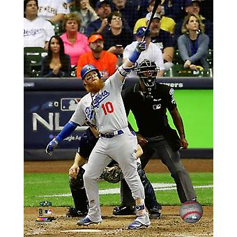 Justin Turner Home Run Game 2 of the 2018 National League Championship Series Photo Print