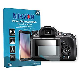 Sony SLT-A58Y Alpha Screen Protector - Mikvon Armor Screen Protector (Retail Package with accessories)