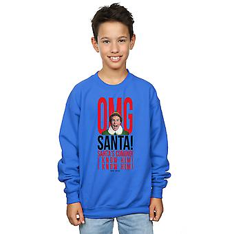 Elf Boys OMG Santa I Know Him Sweatshirt