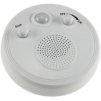 Wall & ceiling radio with PIR sensor ØxH 95x40mm, battery operation