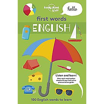 First Words - English 1 by Lonely Planet Kids - 9781786577375 Book