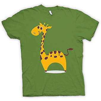 Mens T-shirt - I Love Giraffes - Cute Animal