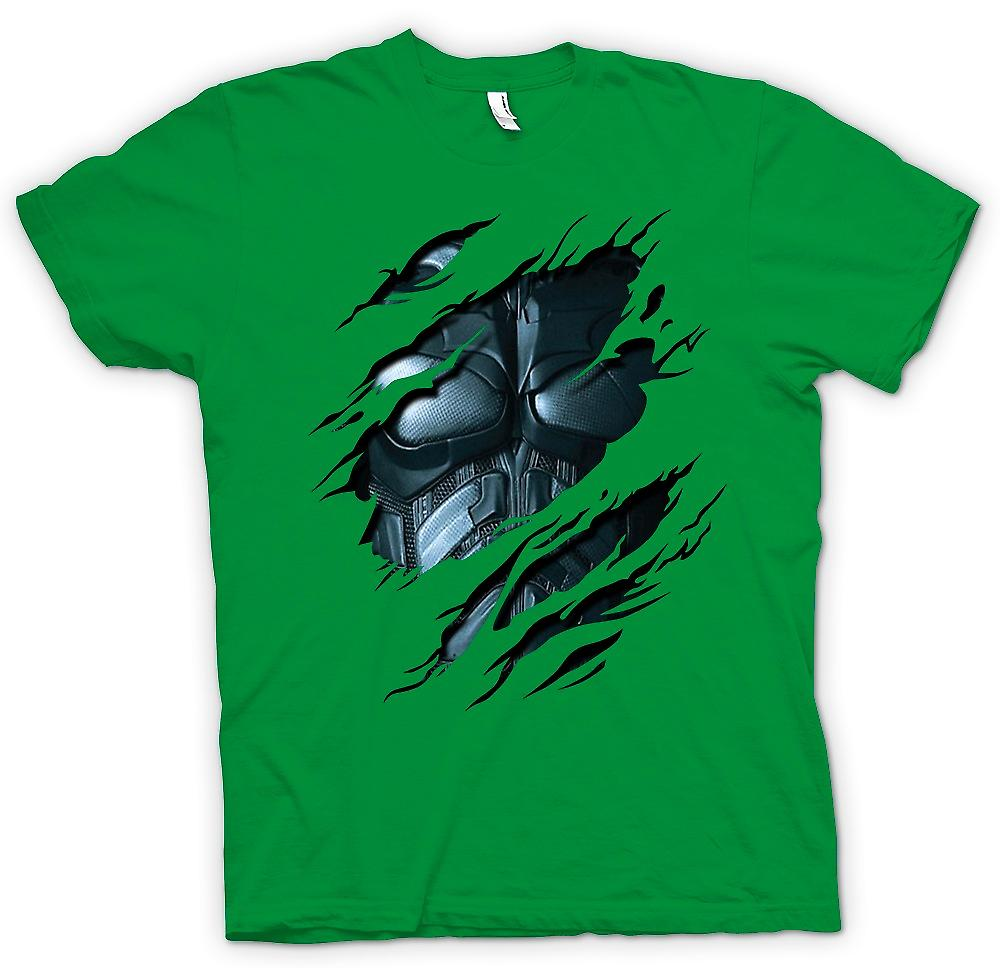 Mens t-shirt - Batman Suit - supereroe strappato Design