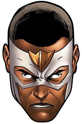 Falcon from Marvel's The Avengers Single Card Party Face Mask