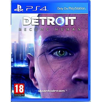 Detroit stają się ludzkie PS4 gry