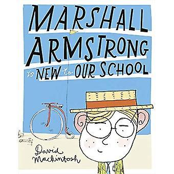 Marshall Armstrong ist neu an unserer Schule