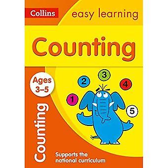3-5 Jahre zählen: Neuauflage (Collins leichtes Lernen Vorschule)