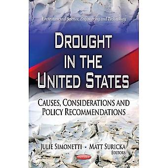 DROUGHT IN THE UNITED STATES (Environmental Science, Engineering and Technology)