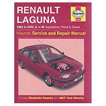 Renault Laguna Petrol and Diesel (1994-2000) Service and Repair Manual (Haynes Service and Repair Manuals)