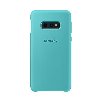 Samsung silicone cover green for Samsung Galaxy S10e G970F EF PG970TGEGWW bag case protective cover
