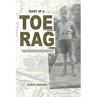 Dagboek van een teen-Rag: een kindertijd memoires van Harlesden te Hemel Hempstead door de jaren 1950