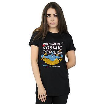 Disney Women's Aladdin Genie Phenomenal Cosmic Powers Boyfriend Fit T-Shirt
