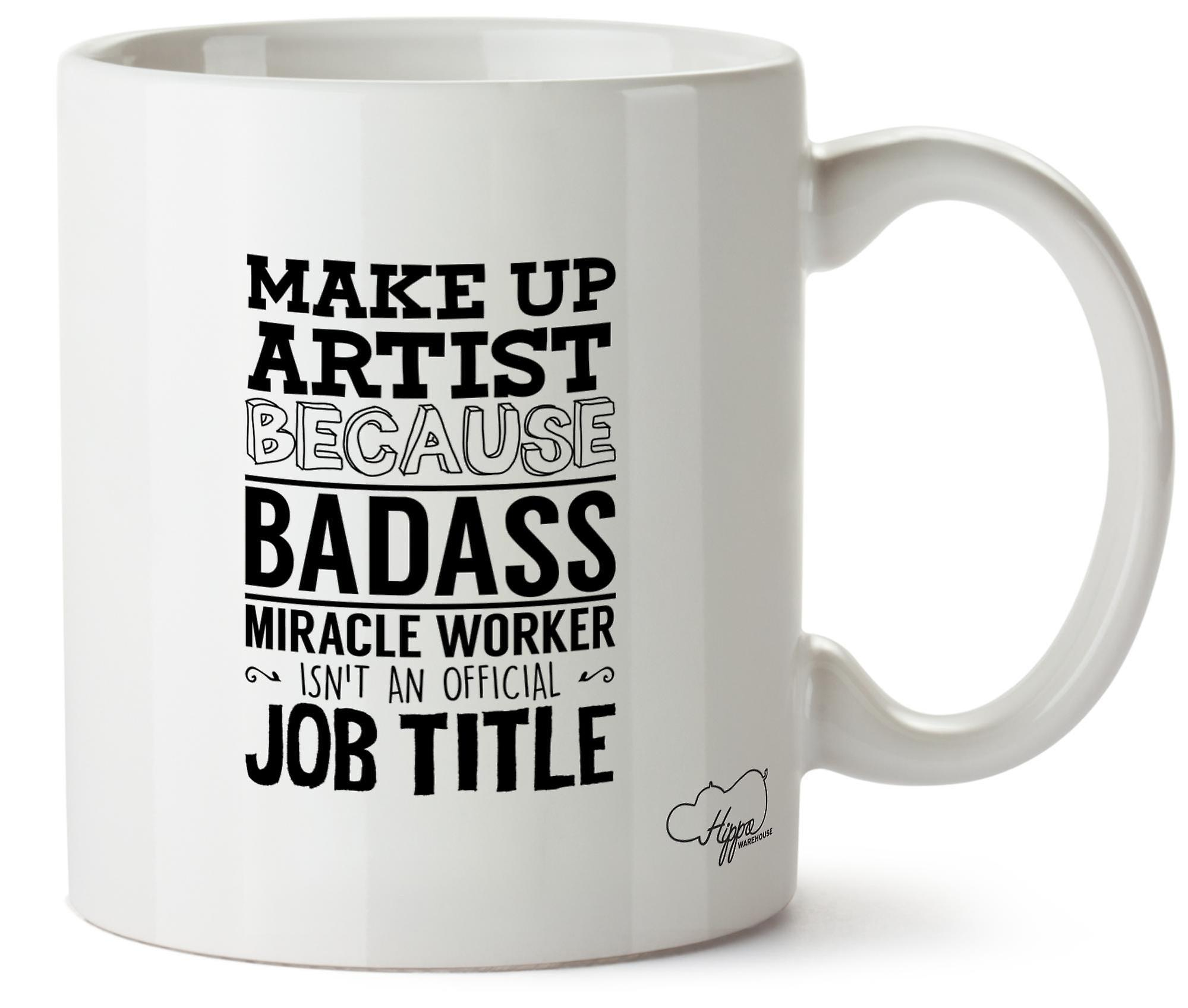 Tasse Worker Isn'tan Badass Car Maquilleuse Officiel Poste Miracle Hippowarehouse 10oz Céramique Imprimé En eBCdxo