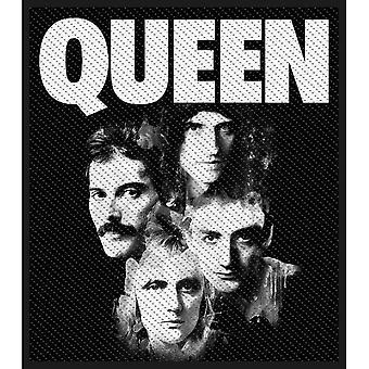 Queen-Band Nähen-auf Tuch Patch 100 X 100 Mm