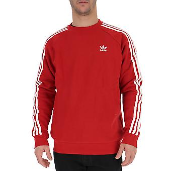 Adidas Red Cotton Sweater