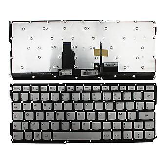 Lenovo IdeaPad Air 12 Backlit Silver Windows 8 French Layout Replacement Laptop Keyboard