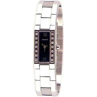 Zeno-watch ladies watch baguette 14 Swarovski crystals 8113Q-c1M