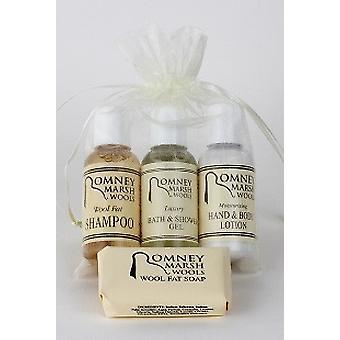 Reisen Sie Toilettenartikel-Geschenk-Set – H & B Lotion, Shampoo + Handwäsche